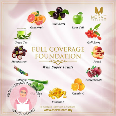 MERVE FULL COVERAGE FOUNDATION