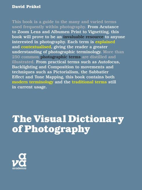 Portada libro: Diccionario visual de la fotografia