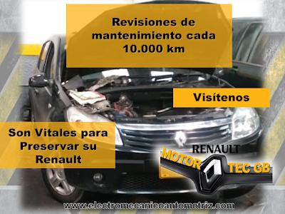 Mantenimiento 10.000 km Renault Bogota