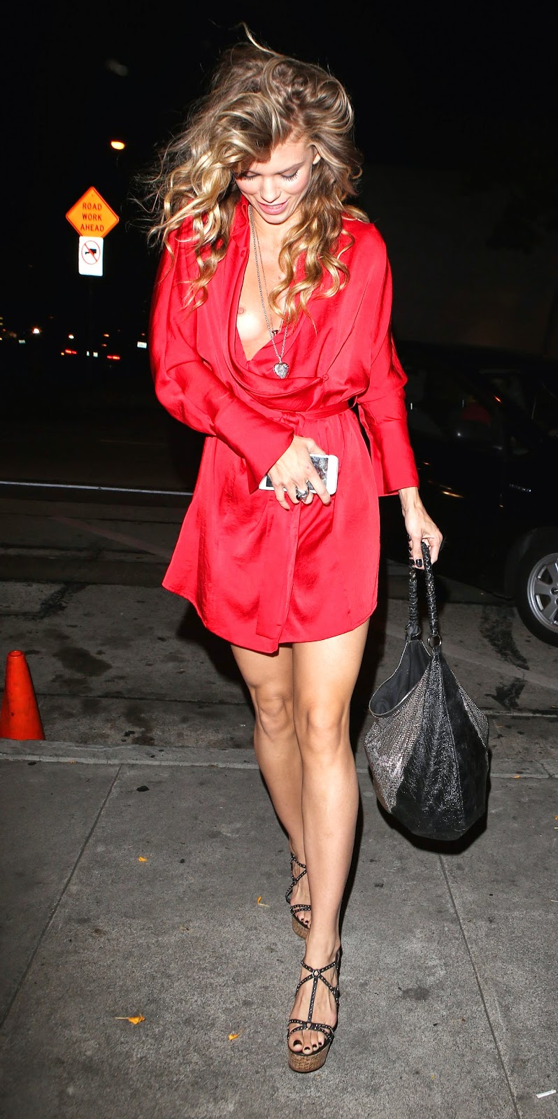 The Celebrity Oops Digest Annalynne Mccord Stepping Out