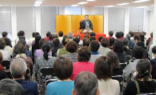 三遊亭楽春講演会「笑いのパワーで健康に!」