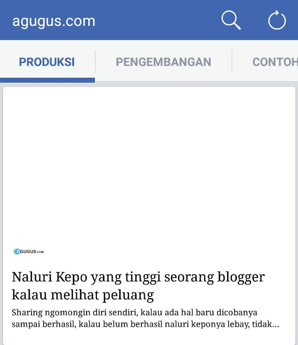 Permasalahan Daftar instan artikel menggunakan blogger blogspot