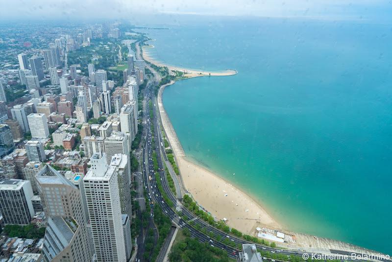 Oak Street Beach from 360 Chicago Girls' Weekend in Chicago