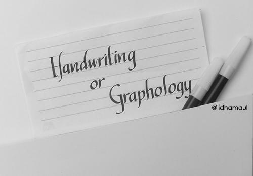 Hand Lettering karya Lidha Maul