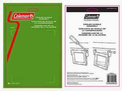 coleman cooler parts