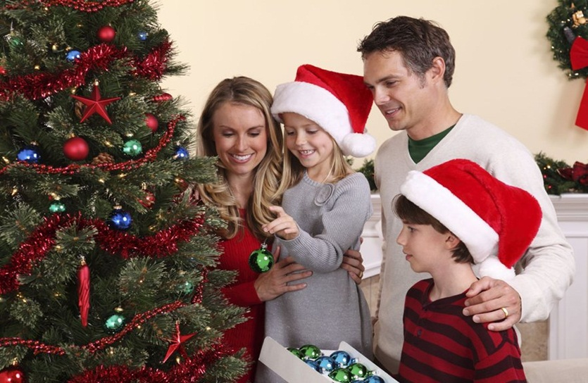 Merry Christmas Greeting for Family