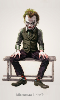 joker cartoon Boot Logo for Micromax Unite 2