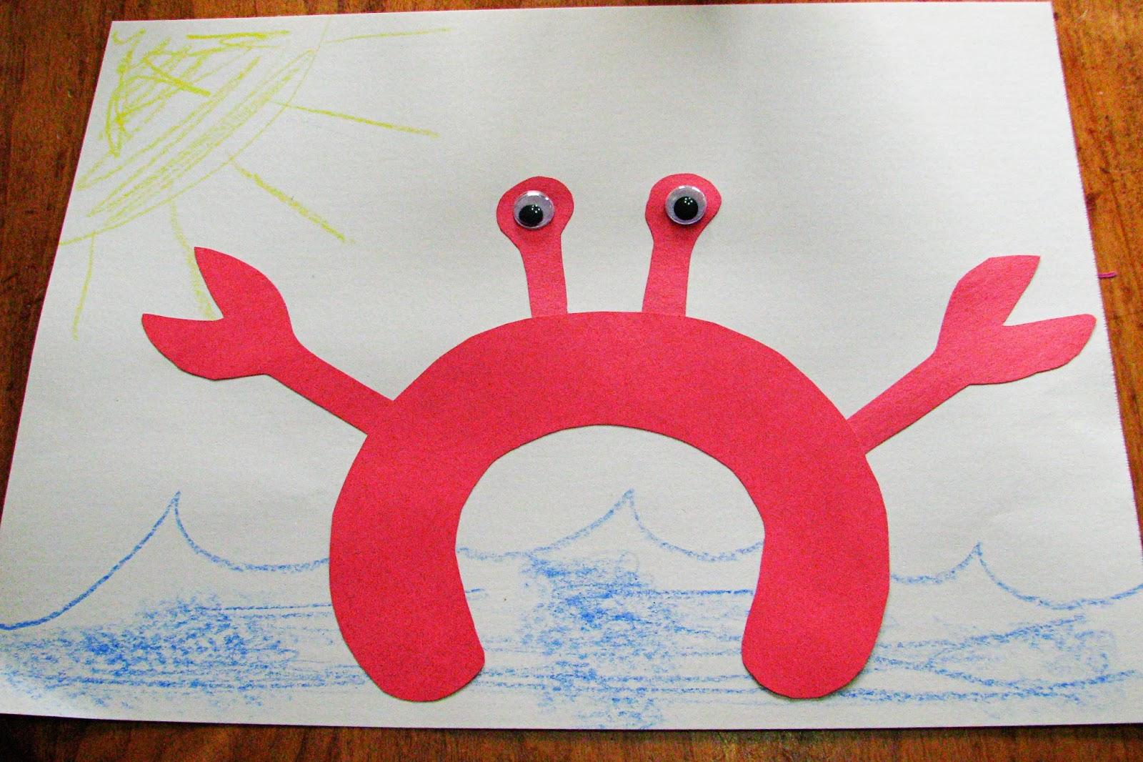 Mommy S Little Helper C Is For Crab Preschool Theme