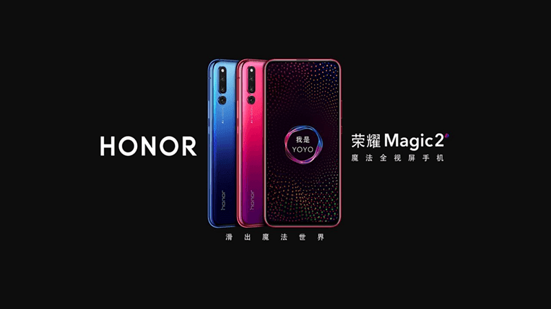 Honor Magic 2 with full screen slider, 6 cameras in total, and YOYO assistant launched