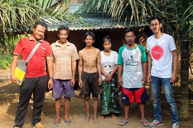 Kunjungan Tim Kemitraan ke Suku Anak Dalam Jambi