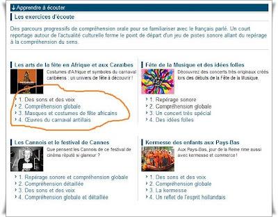 Apprendre à écouter  دروس صوتية فرنسية روعة