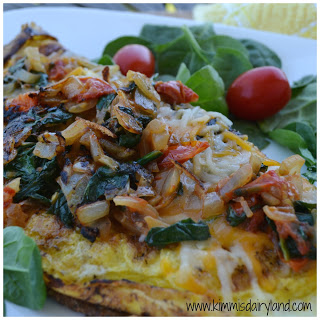 Easy Weekly Meal Plan #20 from My Fearless Kitchen. This week's meal plan includes Spinach & Tomato Veggie Omelet, Crockpot Mac & Cheese, Spring Asparagus Salad with Lemon Vinaigrette, Turkey Vegetable Soup, Caprese Sliders, Sweet Onion Teriyaki Ribs, and Mini Chocolate Chip Cakes.
