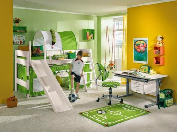 Kids Sports Room Ideas For Boys