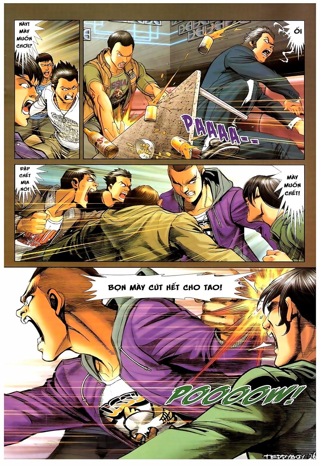 Người Trong Giang Hồ - Chapter 1379: Oan gia gặp nhau - Pic 22