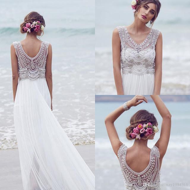 f23914675 Moda de vestidos para boda en la playa - Vestidos baratos
