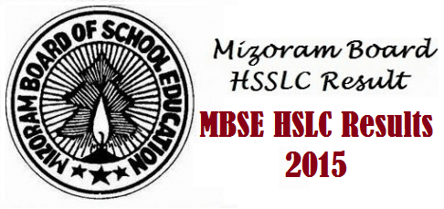 Mizoram Board MBSE HSLC Result 2016 were announced