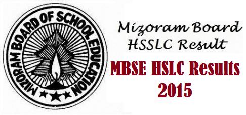 Mizoram Board MBSE HSLC Result 2016 were announced