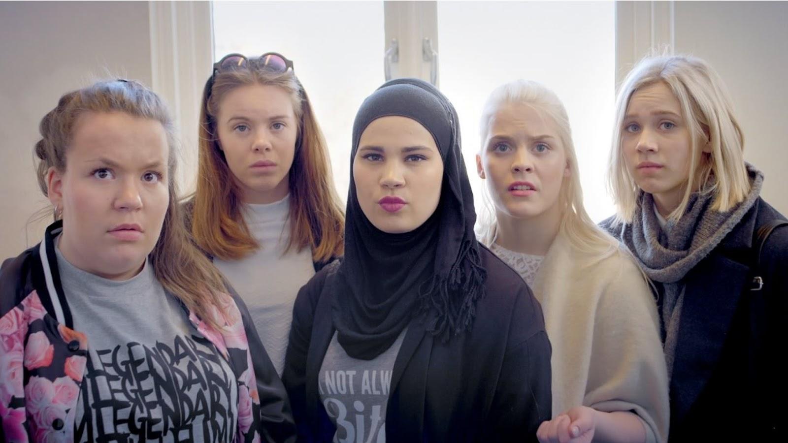 Protagonistas femeninas de Skam