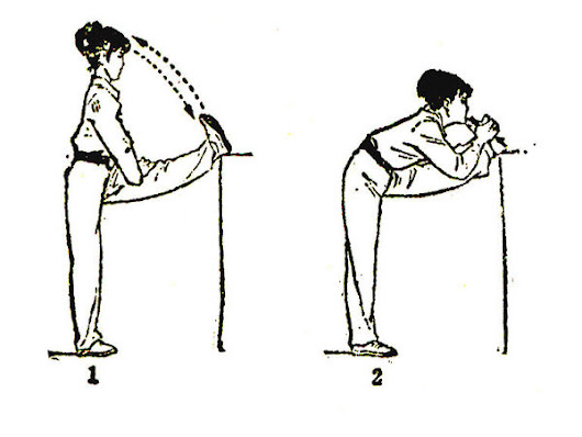 How to pull ligament flexible exercise?