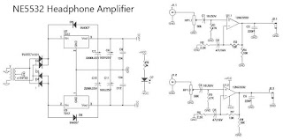 NE5532 OpAmp Based Headphone Amplifier