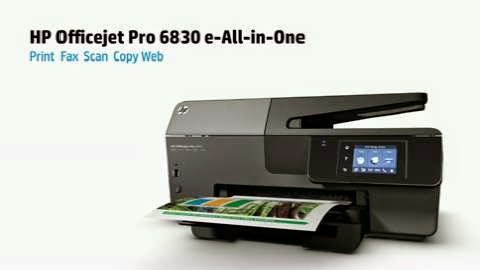 Download Driver Printer HP Officejet Pro 6830