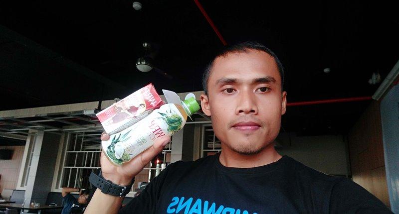 WRP Active Coco Splash dan 1 pcs minuman WRP on the go