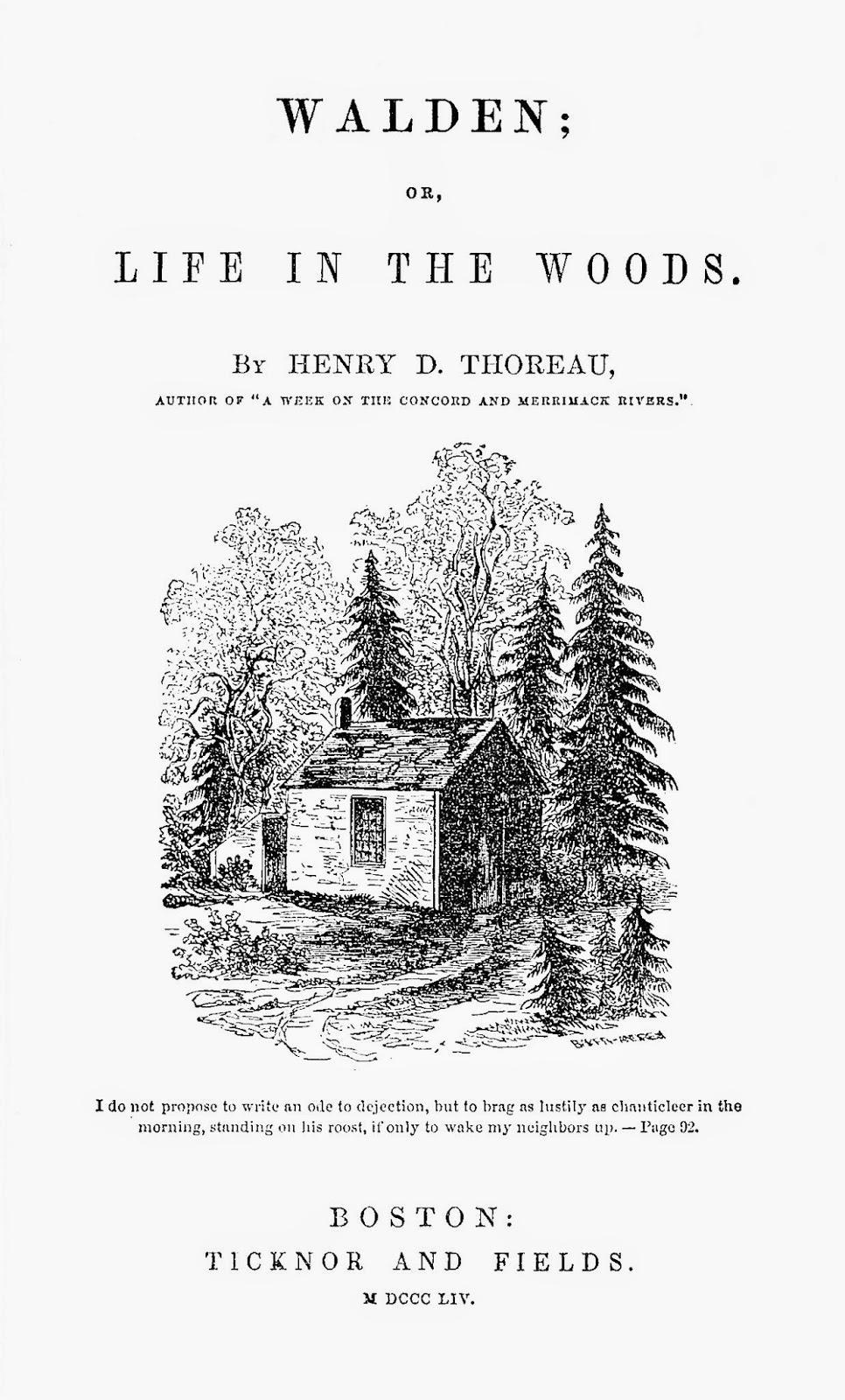 libro Walden