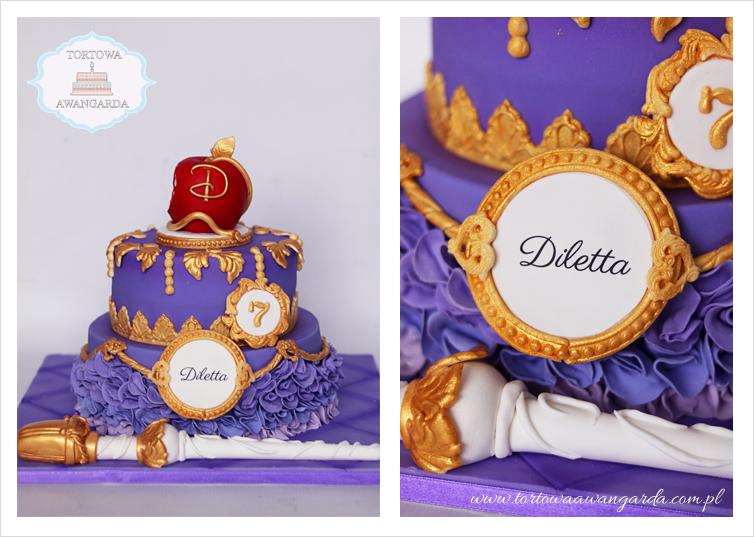 tort artystyczny dla małej księżniczki  Warszawa Gocław Praga