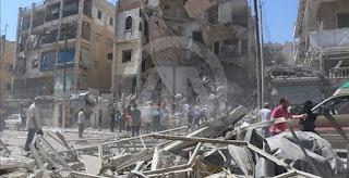 Hampir 3.000 Warga Sipil telah Terbunuh oleh Koalisi Internasional di Suriah