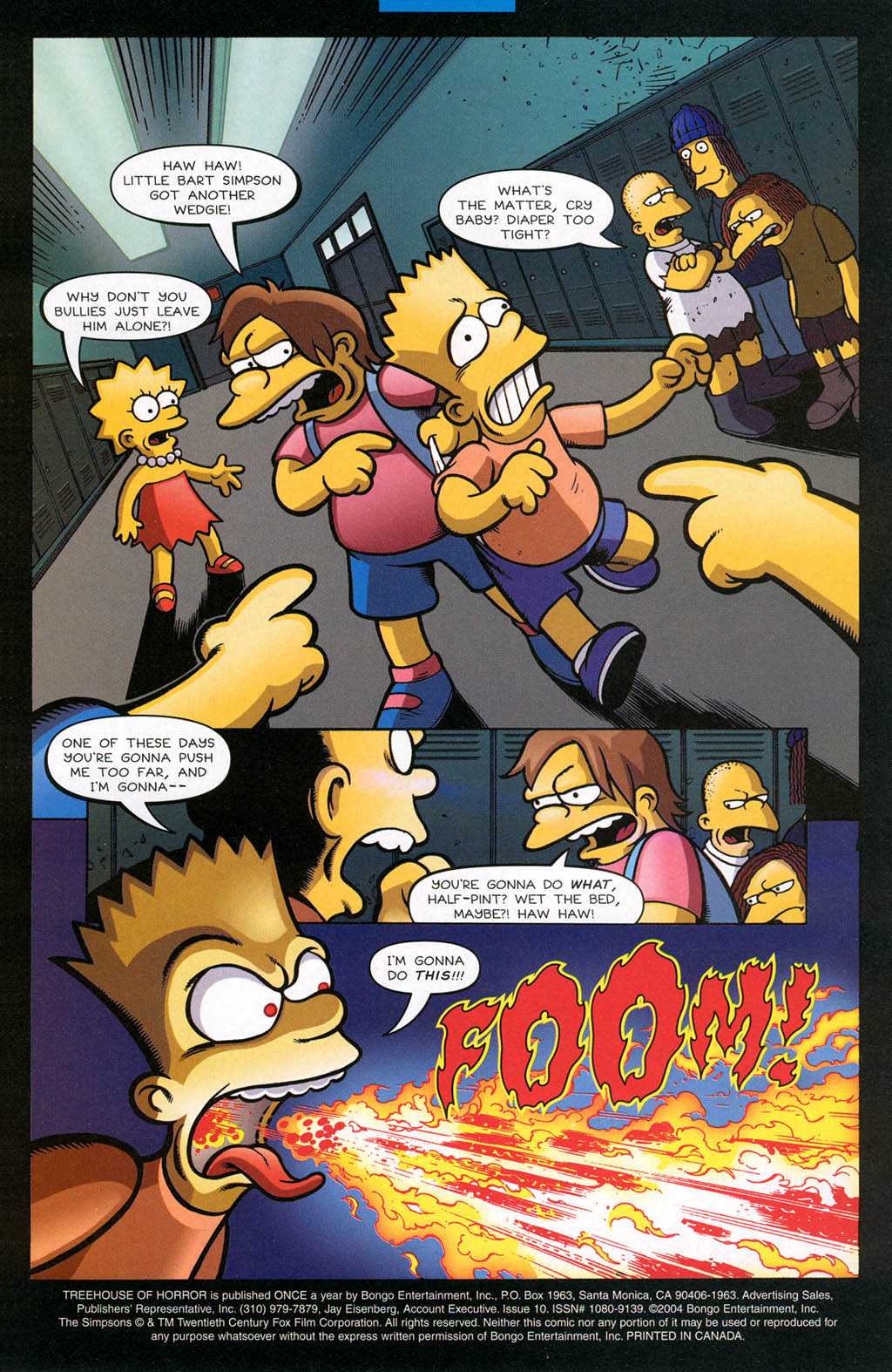 Read online Treehouse of Horror comic -  Issue #10 - 4