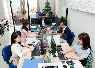 Văn phòng công ty Hành Trình Việt