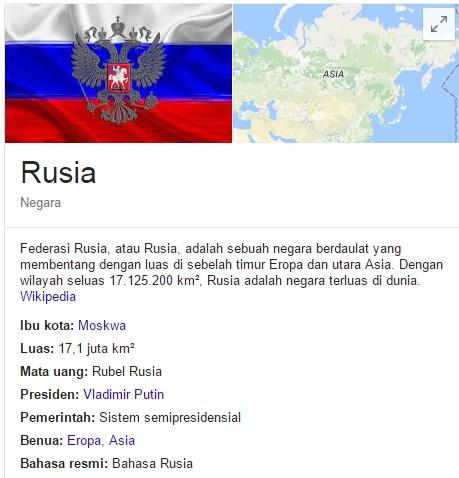 31 Fakta Rusia yang Menarik