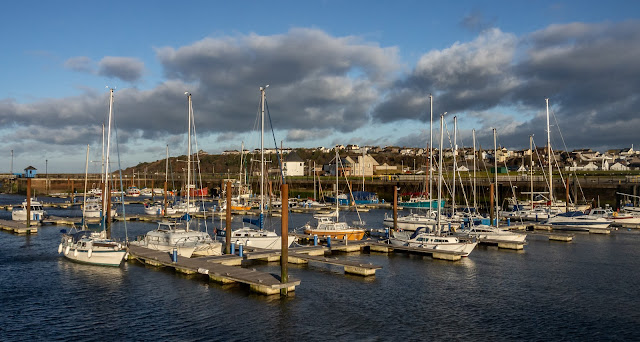Photo of another view of Maryport Marina