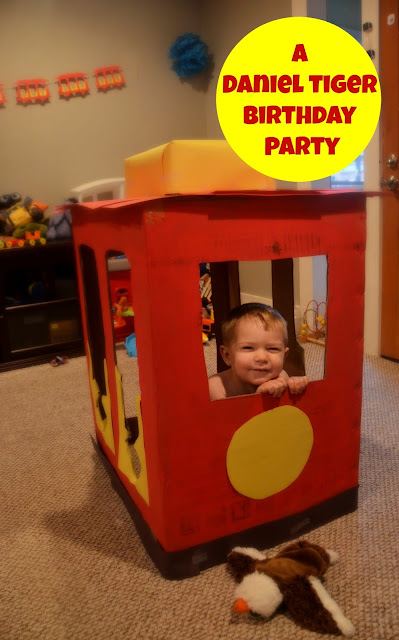 daniel tiger trolley toddler birthday party