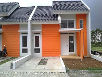 Warna Cat Dinding Luar Rumah Yang Cerah 4