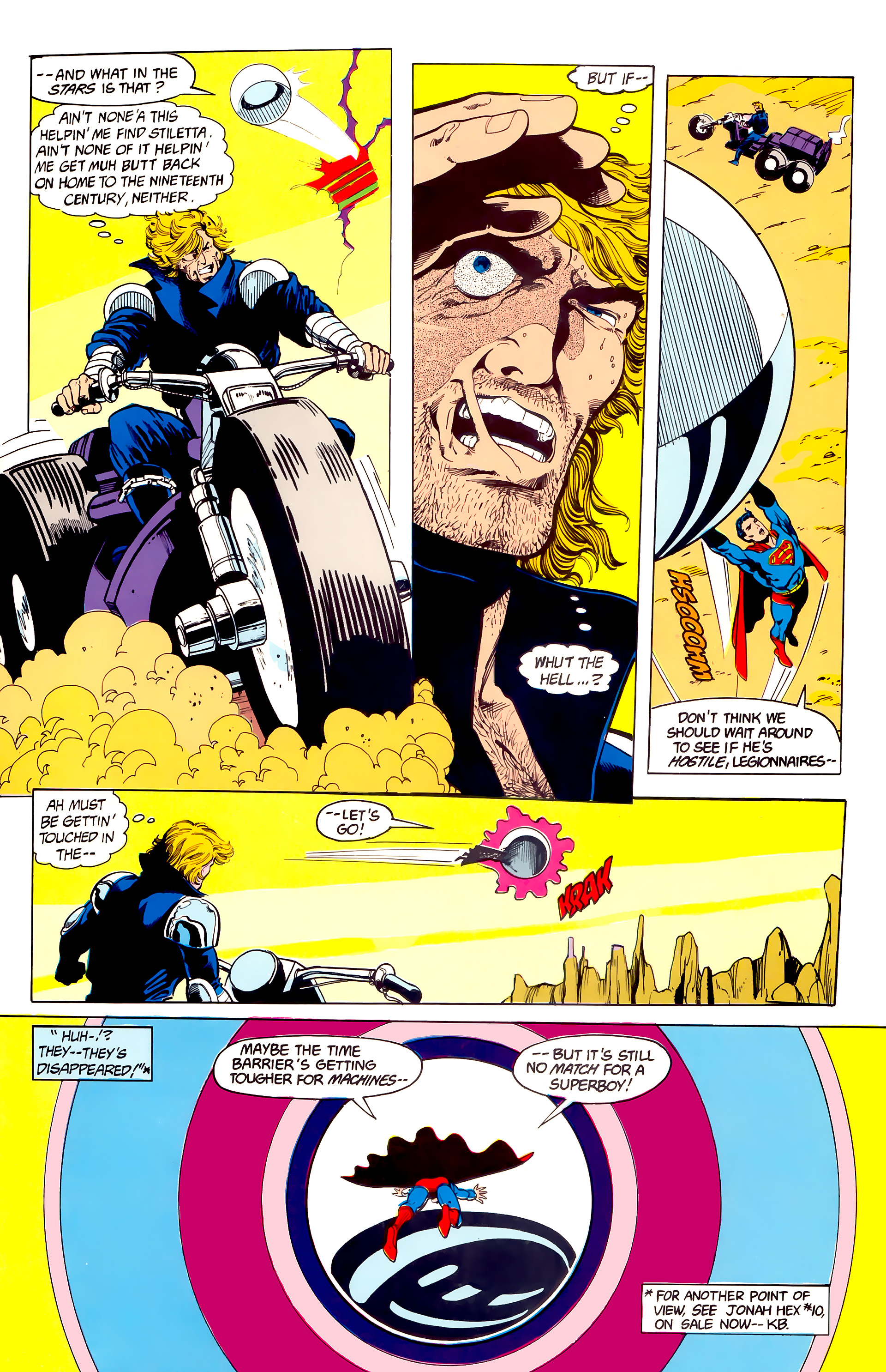 Legion of Super-Heroes (1984) 23 Page 26