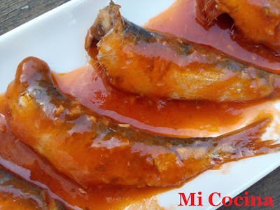 Mi cocina sardinitas manolitas de malaga en salsa con for Mi cocina malaga