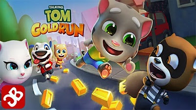 Talking Tom Gold Run - APK [MOD/PERSONAGENS]