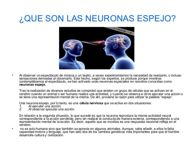 aplica la psicolog a a tu vida neuronas espejo infograf a