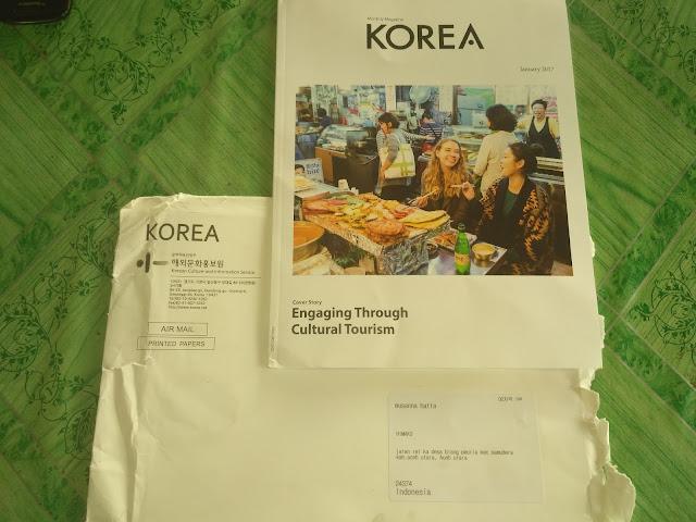 Cara Order majalah Gratis dari korea selama setahun