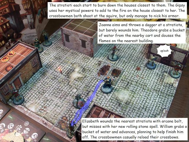 Nova Aetas board game painted play burning hot map scenario 0.1