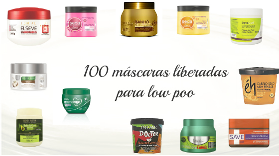 mascaras liberadas para low poo