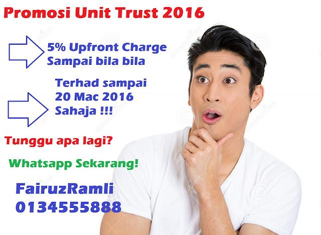 Promosi Unit Trust 2016