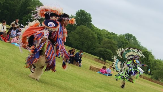 Powwow at Busse Woods in Elk Grove Village, IL.