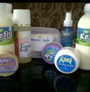 Masker Kefir, Susu Kefir, dan Cream Kefir