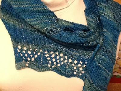 FO Friday—Summer Scarves: Two Blue for You