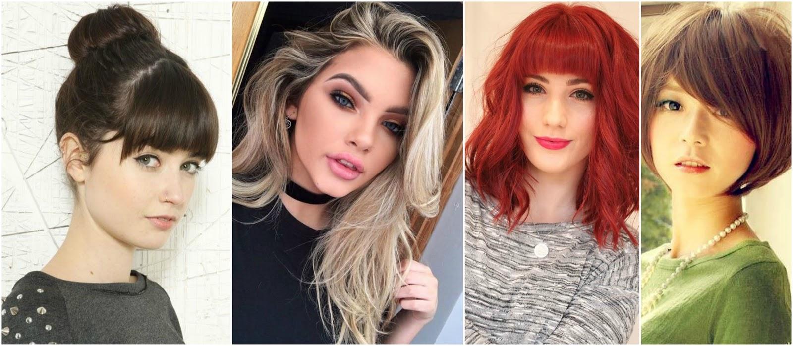Aprende Cómo Cortar El Flequillo Cerquillo O Chasquilla En Casa Belleza Y Peinados