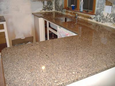 Desain Meja Dapur Dari Granit Modern Untuk Rumah Minimalis 3