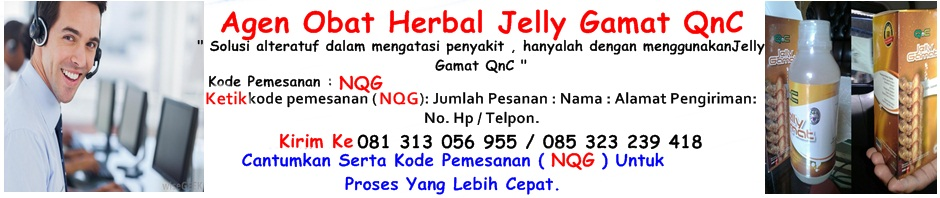 Obat Herbal Jelly Gamat QnC