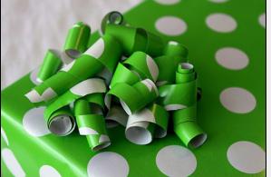 Kağıttan Paket Süslemesi Yapımı